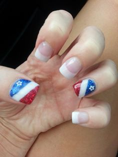 Fourth of July nails!!!