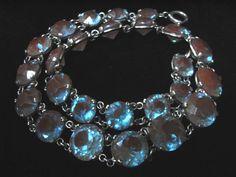 Antique Saphiret Necklace - La Perlerie*Ange(ラ・ペルリ*アンジェ)