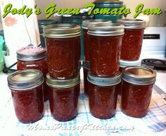 Jams, Jellies, Pickles and Preserves - Mom's Kitchen Pantry