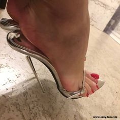 Welcome to Lena's Sexy Foot World / Foot fetish / Nylons / Sexy Füße / High Heels / email: / Berlin Germany Sexy High Heels, Extreme High Heels, Sexy Legs And Heels, Beautiful High Heels, Dress And Heels, Stilettos, Stiletto Heels, Pumps, Stockings Heels