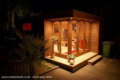 The Idea Room, Workshop/Studio Warwickshire owned by Antony Townsend Backyard Studio, Backyard Sheds, Outdoor Sheds, Garden Sheds, Workshop Shed, Workshop Studio, Shed Of The Year, Building A Storage Shed, Drum Room