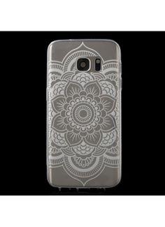 Coque Samsung Galaxy S7 Transparent Mandala