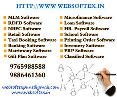 Websoftex Software Solutions pvt. ltd. is used by more than 200 mlm companies across the nation. It has employed 225 engineers for their support round-the-clock. This software has been developed to its present state by years of research and trial-and-error process. Its clients have been the major source of eradication of error from this nearly perfect mlm software. For more detail log on to: http://websoftex.in/mlm_software.php