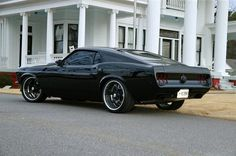 it was summer, and I had a 1969 Mustang Fastback (Acapulco Blue)...I loved that car!!