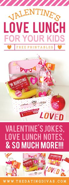 Valentine's Day Love Lunch for Kids!! Love this fun family idea!!