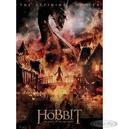 The Hobbit Poster Die Schlacht der fünf Heere Drache Hier bei www.closeup.de