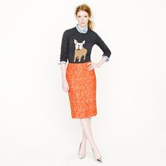 """No. 2 pencil skirt in corkscrew tweed  the only bit of """"crazy"""" shopping I did- a little cyber monday treat!"""