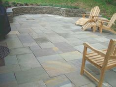 Dry Laid Flagstone Patio