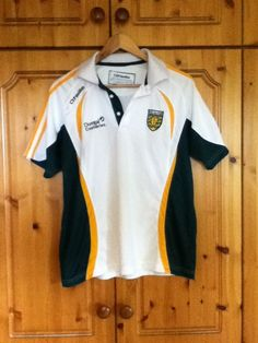 c65cf54c9 Donegal Gaelic Football Training Jersey Shirt 2014 Small Adult GAA Irish CLG  Donegal