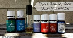 Learn how to make an Adrenal Support Roll-on Blend for low energy, fatigue, and poor sleep. essential oils are a great way to give our adrenals needed rest!
