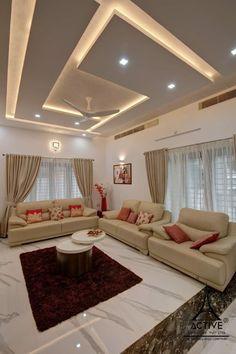 Best False Ceiling Designs, Simple False Ceiling Design, House Ceiling Design, Ceiling Design Living Room, Bedroom False Ceiling Design, Bedroom Closet Design, Living Room Interior, Living Room Designs, House Design