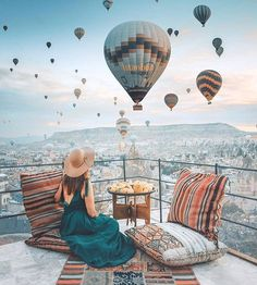 cappadocia/Turkey #hotairballoons #cappadocia