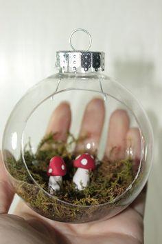 mushroom terrarium ornaments