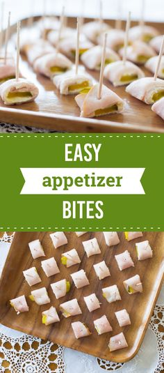 Easy Appetizer Bites – If the folks you have coming over this summer happen to be fans of creamy, crunchy, and delicious, these easy apps are the solution. And this recipe combination of ham, pickles, and cream cheese requires just 10 minutes of prep time!