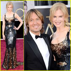 Robbie Goddard sharing pictures of Keith Urban. Nicole Kidman - Oscars 2013 Red Carpet with Keith Urban