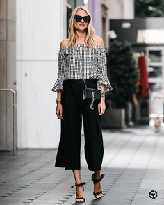 30 Black Culottes Outfit Ideas You Should Try This Year
