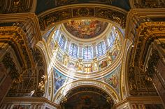 Inside Kazan Cathedral - Things to do in St Petersburg.
