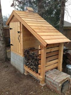 DIY complete instructions to build this amazing smokehouse...