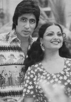 Amitabh Bachchan and Rekha.