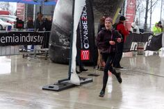 Ještěd SkyRace 2016 finish line