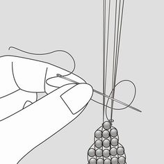 Best Seed Bead Jewelry 2017 finishing a woven piece Seed Bead Tutorials Loom Bracelet Patterns, Seed Bead Patterns, Bead Loom Bracelets, Jewelry Patterns, Beading Patterns, Silver Bracelets, Embroidery Patterns, Knitting Patterns, Mosaic Patterns