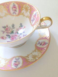 Vintage Kaiser Germany Bone China Tea Cup and by MariasFarmhouse