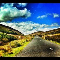 The Vee mountain pass, Ireland