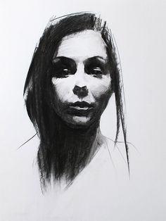 Charcoal Portrait Studies on Behance