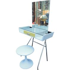 1stdibs   antique  1950  Child Vanity from Holland