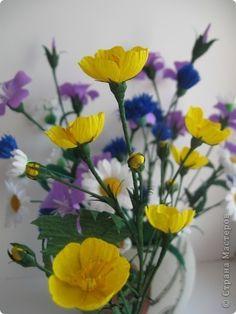 Buttercup flower making419