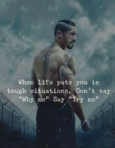 Try me. success quotes Best Words of Encouragement for Hard Times Motivacional Quotes, Joker Quotes, Great Quotes, Words Quotes, Sayings, Bring It On Quotes, Qoutes, Strong Quotes, Positive Quotes