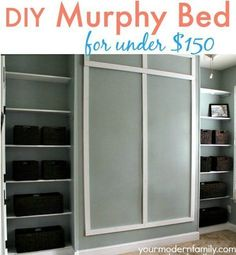 Ikea murphy bed building project jeff and i were talking about video diy murphy bed for under 150 with plans solutioingenieria Gallery