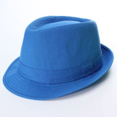 New Lady Men Jazz Neon Panama Fedora Trilby Cowboy Cap Sun Beach Hat 9b40452b0fec