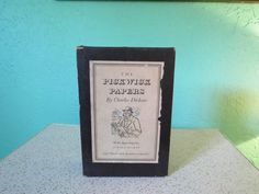 The Posthumous Papers of the Pickwick Club by by TheDustyBookNook
