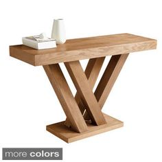 Sunpan Madero Square Oak Coffee Table   Overstock.com Shopping - The Best Deals on Coffee, Sofa & End Tables