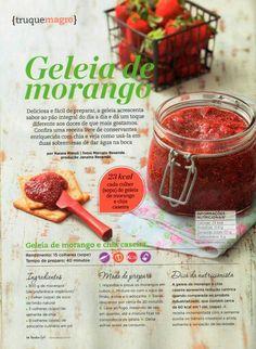EXCLUSIVO: receita da geléia de morango com chia.