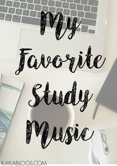 Some of my favorite study playlists that I listen to when I'm getting ready for finals or writing blog posts! Come share your favorites with me!