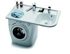 Praktik W mosdó 80eFt :( Öntött műmárvány mosdó  mérete: 1160 x650 mm kivitel: balos vagy jobbos  Ha a mosógép fölé helyezzük el a mosdót, nagy rakodófelületet nyerünk az elvesztett tér helyett, amely nincs kapcsolatban a mosógéppel, így annak rázkódása nincs a mosdóra hatással. Akár egy 60 cm mély mosógép is elhelyezhető alatta. 79 300 Ft