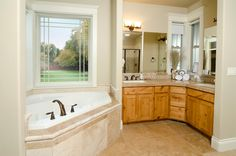 Various style options enable ProVia Aspect vinyl windows to become a design feature in your home. Vinyl Windows, Windows And Doors, Amish Country, Energy Efficiency, Corner Bathtub, Save Energy, My House, Home Goods, Design