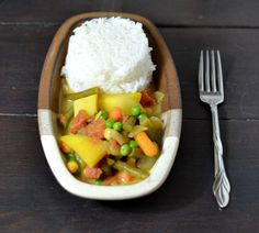 From Fast Food to Fresh Food: No Hurry Curry #CrockPot Challenge Day 3