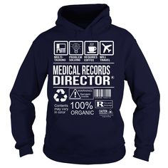nice   Awesome Tee For Medical Records Director - Good Shirt design