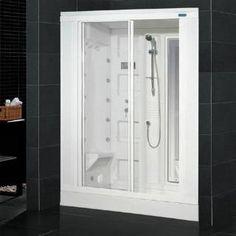 "Check out the Ariel Bath ZA205 AmeriSteam 31""W Steam Shower Enclosure in White priced at $2,840.50 at Homeclick.com."