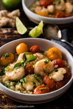 Green Curry Shrimp by omnivorescookbook: A quick fix for a comforting, delicious, and healthy meal. The cooking is simple, foolproof, and forgiving. #Green_Curry #Shrimp