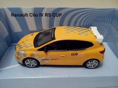 V19 Voiture miniature MONDO MOTORS 1/43 Renault Clio IV RS CUP