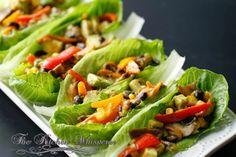 The Kitchen Whisperer Hearty Healthy Vegetarian Lettuce Spoons