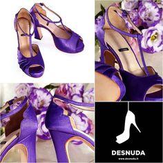 Porque muchas novias aman el color :) !!! Les presentamos los zapatitos de Sil  #amoreterno #felicidad #amor #dream #wedding #love #shoes #zapatos #desnudashoes #detalles
