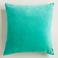 velvet pillows world market
