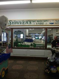 fresh taffy, ocean city, NJ-I worked back there putting salt water taffy in the boxes first day of work.