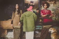 Model- Ebyan & Elizabeth, Garment/Styling- Dhruv Singh, Photography- Devansh