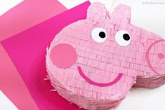 Create A Peppa Pig Piñata - As The Bunny Hops® Birthday Pinata, Pig Birthday, Birthday Party Themes, Peppa Pig Pinata, Cumple Peppa Pig, Pig Party, No Cook Desserts, Perfect Party, Cookie Decorating